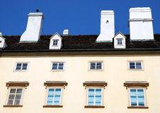 An apartment building in Vienna, Austria. Royalty Free Stock Photos