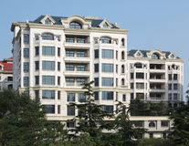 Apartment Building,Villa Royalty Free Stock Images