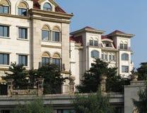 Apartment Building,Villa Stock Image