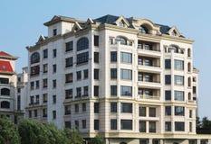 Apartment Building,Villa royalty free stock photos
