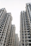 Apartment buildings. Tall apartment buildings in Hong Kong Stock Photography