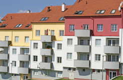 Apartment Buildings. Brand new apartment buildings for sale Stock Photography