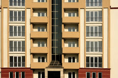 Apartment buildings Stock Photos