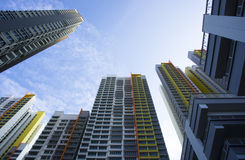 Apartment Buildings Royalty Free Stock Photography