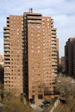 Apartment Buildings. New York City Apartment Buildings on the Lower East Side of Manhattan Stock Photos