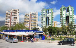 Apartment Buildings in Antalya, Turkey Royalty Free Stock Photography