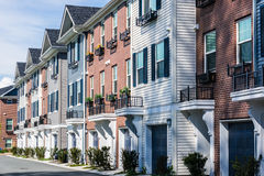 Apartment Buildings Royalty Free Stock Photo