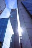 Apartment buildingsIn Asia, Beijing, China, International Trade Center, SOHO Stock Photo