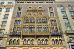 Apartment Buildings in Barcelona, Spain Stock Image