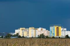 Apartment Buildings in Bratislava Royalty Free Stock Photo