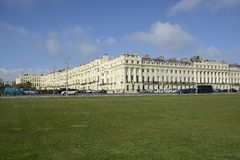Apartment buildings in Brighton. England Royalty Free Stock Images