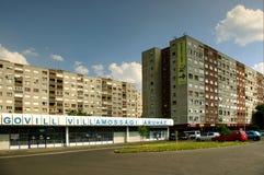 Apartment buildings, Budapest, Hungary Stock Photos