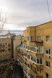 Apartment buildings in the central district of Moscow Stock Photo