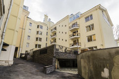 Apartment buildings in the central district of Moscow Stock Image
