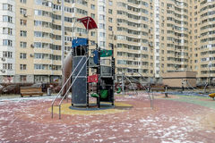 Apartment buildings in the central district of Moscow Royalty Free Stock Image