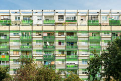 Apartment Buildings In Debrecen Royalty Free Stock Photo