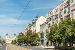 Apartment Buildings In Debrecen Stock Photos
