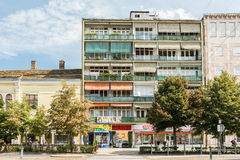 Apartment Buildings In Debrecen Royalty Free Stock Photography