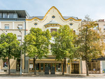 Apartment Buildings In Debrecen Stock Photos