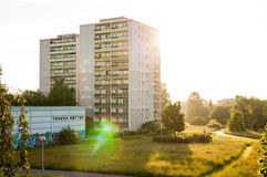 Apartment buildings in Frankfurt (Oder) Royalty Free Stock Photos