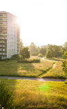 Apartment buildings in Frankfurt (Oder) Royalty Free Stock Photography