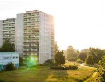 Apartment buildings in Frankfurt (Oder) Royalty Free Stock Image