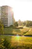 Apartment buildings in Frankfurt (Oder) Royalty Free Stock Photo