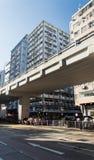 Apartment buildings in Hong Kong. Royalty Free Stock Image