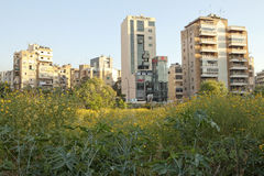 Apartment buildings, Lebanon Stock Images