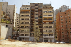 Apartment buildings, Lebanon Stock Photo