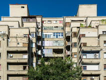 Apartment Buildings On Magheru Boulevard Royalty Free Stock Photography