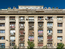 Apartment Buildings On Magheru Boulevard Stock Image