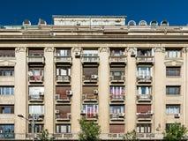 Apartment Buildings On Magheru Boulevard Stock Image