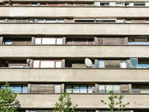 Apartment Buildings On Magheru Boulevard Stock Photography