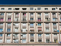 Apartment Buildings On Magheru Boulevard Royalty Free Stock Image