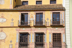 Apartment buildings in Malaga Royalty Free Stock Photo