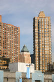 Apartment buildings in Manhattan Royalty Free Stock Image