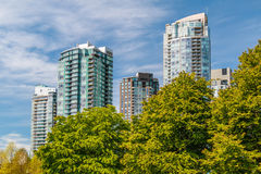 Apartment Buildings Royalty Free Stock Photos