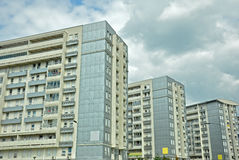 Apartment buildings. Modern apartment buildings,new part of Belgrade Stock Photos