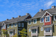 Apartment Buildings royalty free stock images