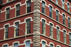 Apartment buildings. In New York City - USA Royalty Free Stock Photography