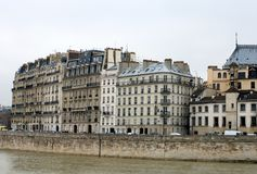 Apartment Buildings, Paris, France Royalty Free Stock Images