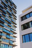 Apartment buildings in the Rheinauhafen in Cologne. Germany Stock Photography