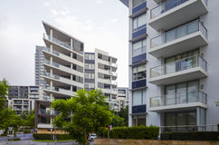 Apartment buildings, Rhodes, Sydney, Australia Royalty Free Stock Image
