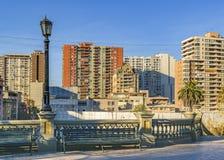 Apartment Buildings, Santiago de Chile City royalty free stock photo