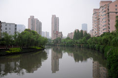 Apartment buildings in Shanghai Stock Image