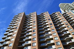 Apartment buildings in Sydney Stock Image