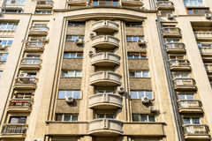 Apartment Buildings On Victory Street (Calea Victoriei) Royalty Free Stock Photo