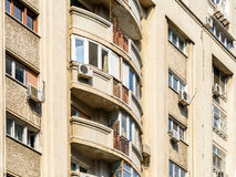 Apartment Buildings On Victory Street (Calea Victoriei) Royalty Free Stock Photos