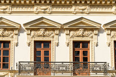 Apartment Buildings On Victory Street (Calea Victoriei) Royalty Free Stock Photography